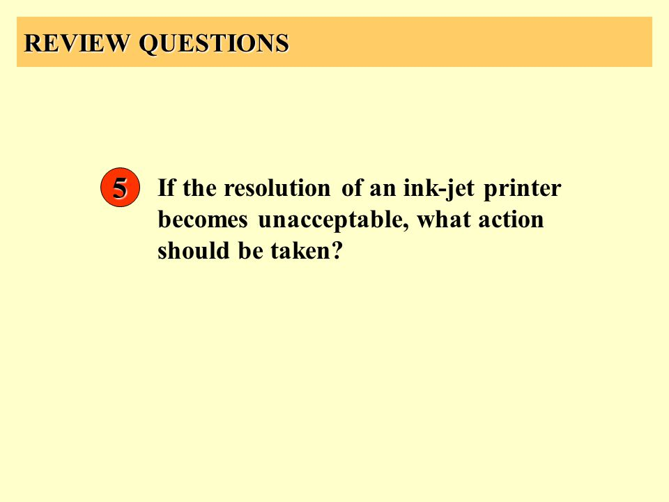 REVIEW QUESTIONS 5.