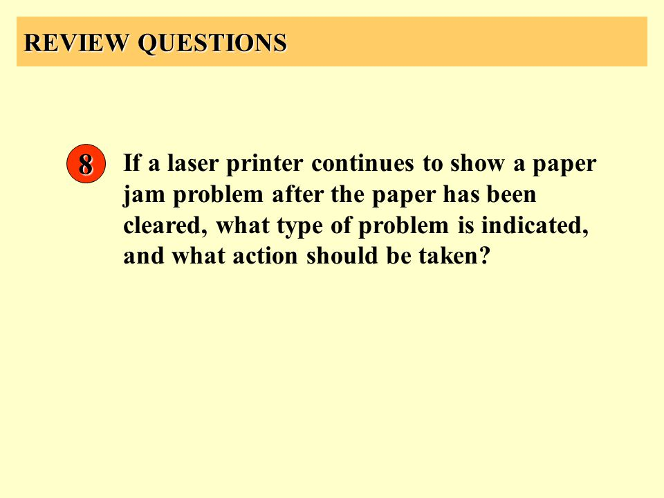 REVIEW QUESTIONS 8.
