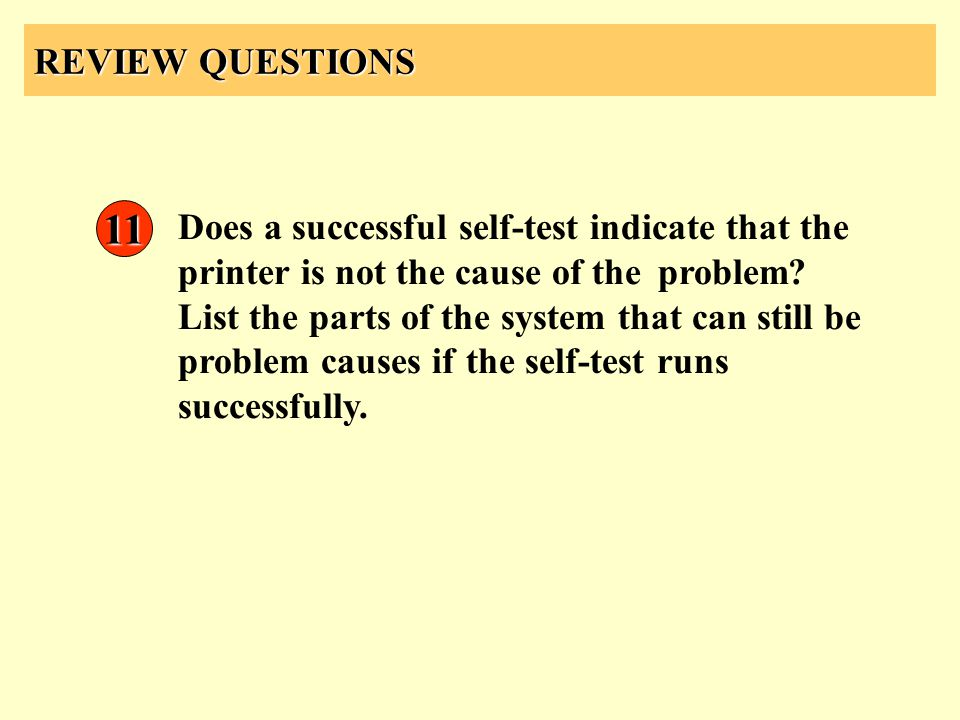 REVIEW QUESTIONS 11.