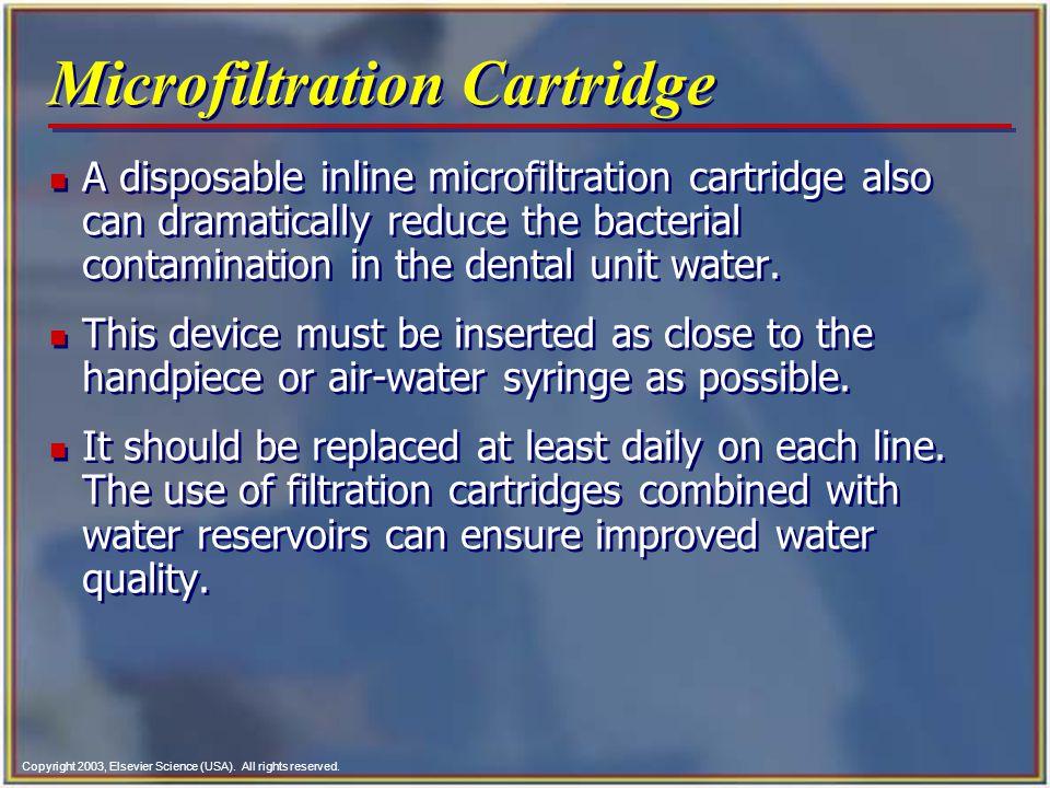 Microfiltration Cartridge