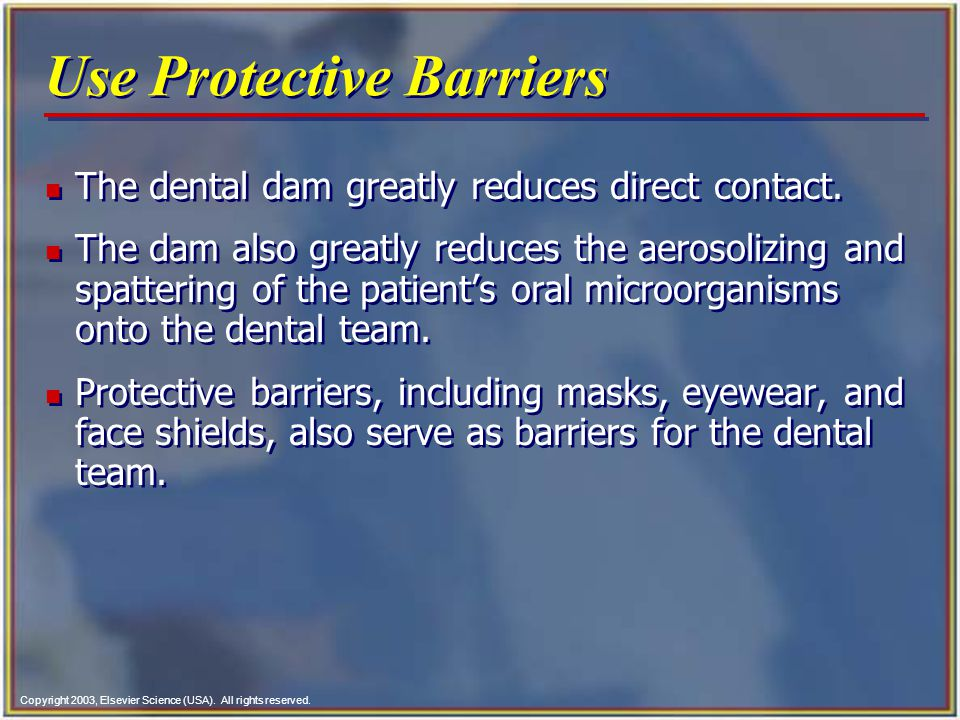 Use Protective Barriers