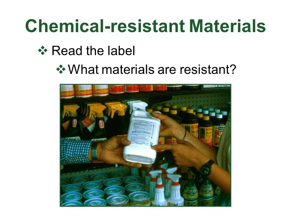 Chemical-resistant Materials