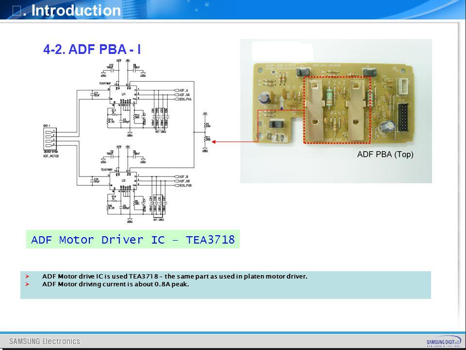 ADF Motor Driver IC – TEA3718