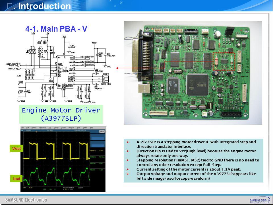 Ⅰ. Introduction 4-1. Main PBA - V Engine Motor Driver (A3977SLP)