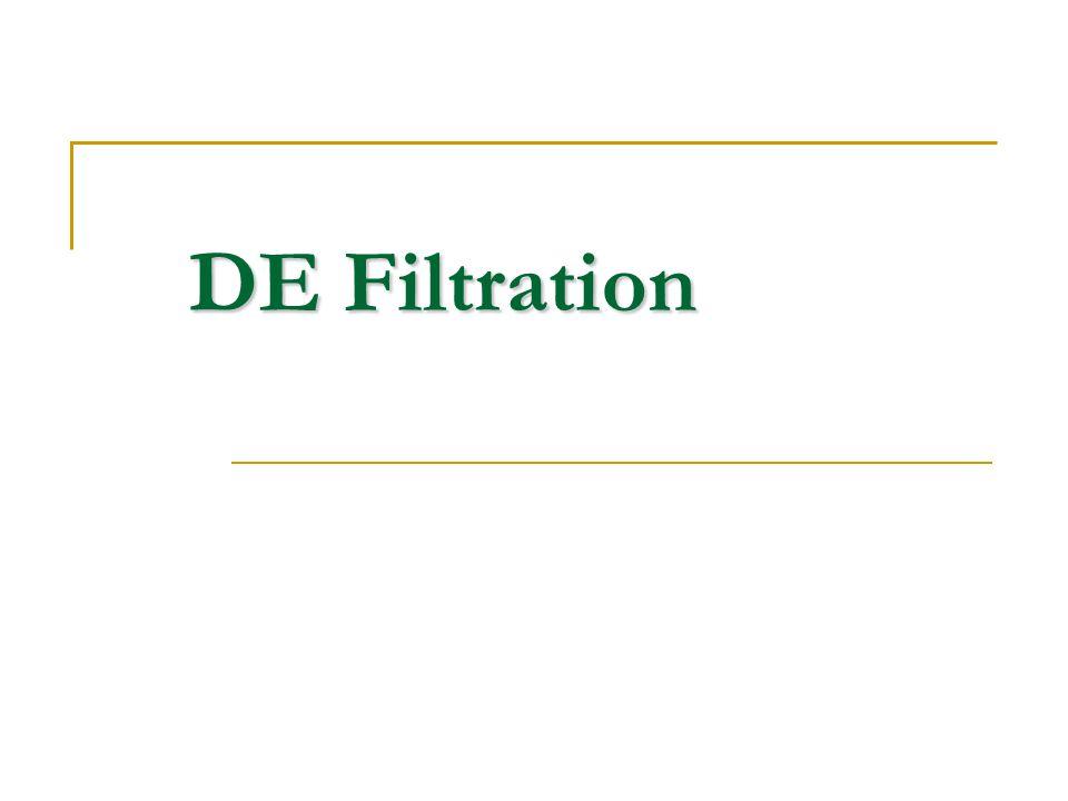 DE Filtration