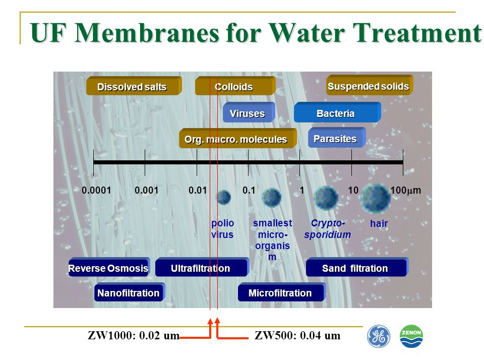 UF Membranes for Water Treatment