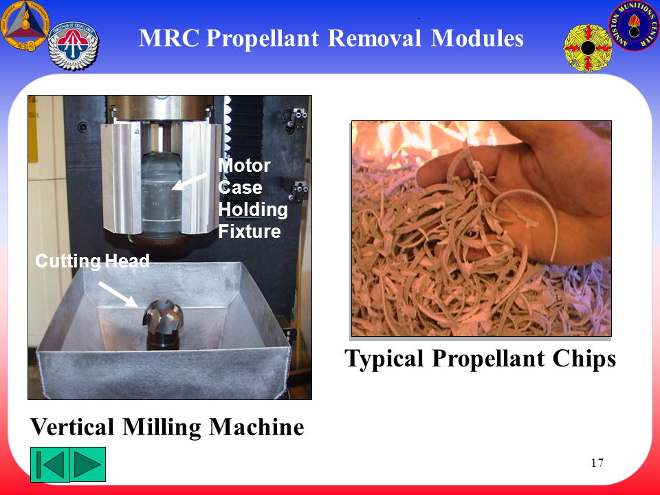 MRC Propellant Removal Modules