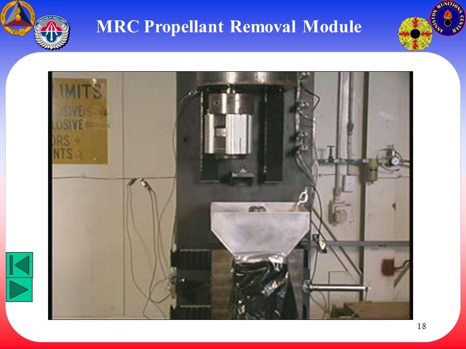 MRC Propellant Removal Module