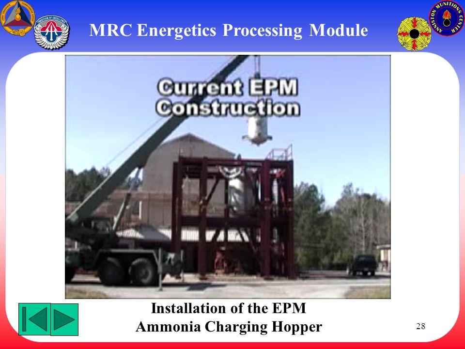 MRC Energetics Processing Module