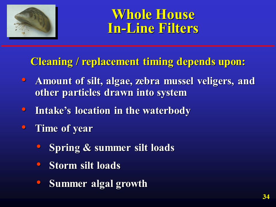 Whole House In-Line Filters
