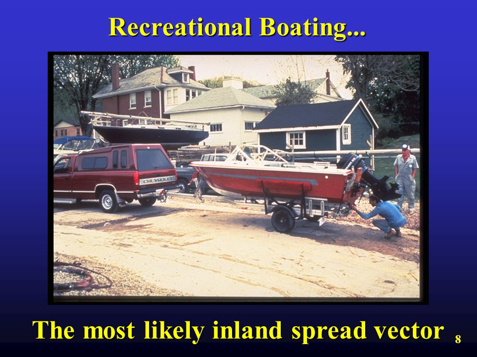 The most likely inland spread vector
