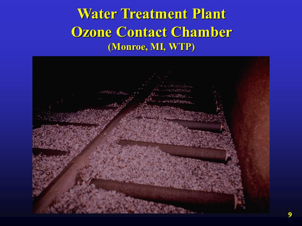 Water Treatment Plant Ozone Contact Chamber