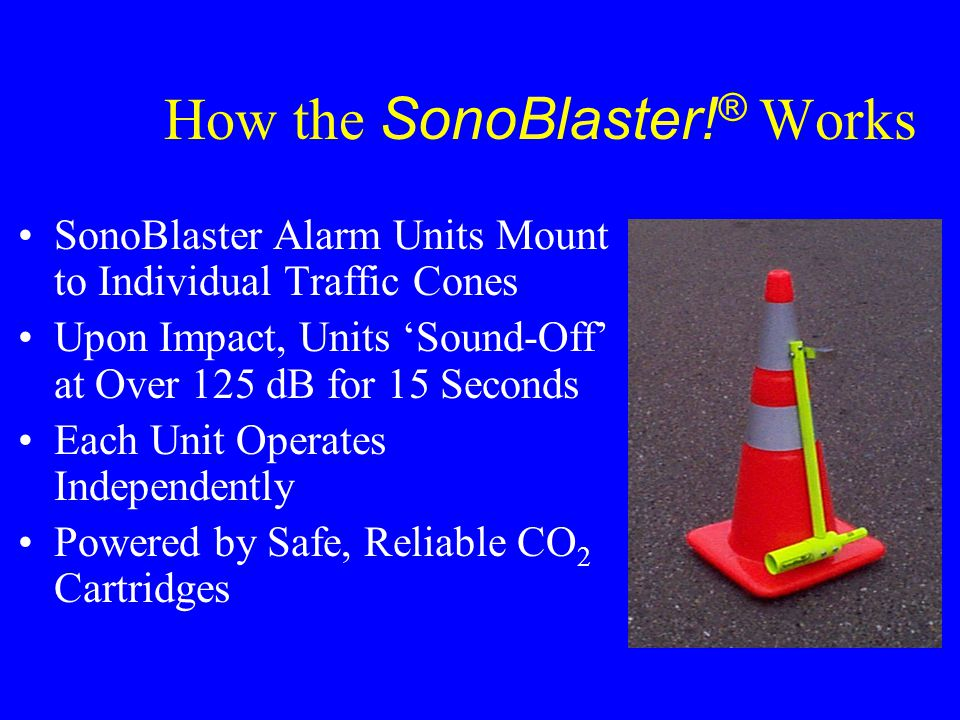 How the SonoBlaster!® Works