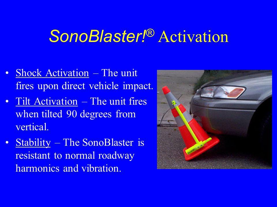 SonoBlaster!® Activation