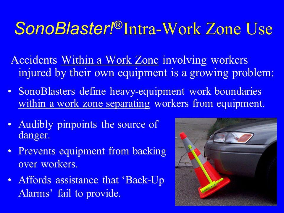 SonoBlaster!® Intra-Work Zone Use