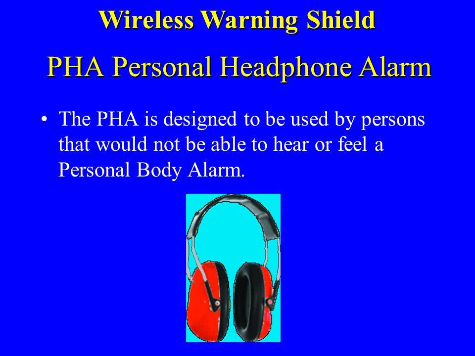 PHA Personal Headphone Alarm