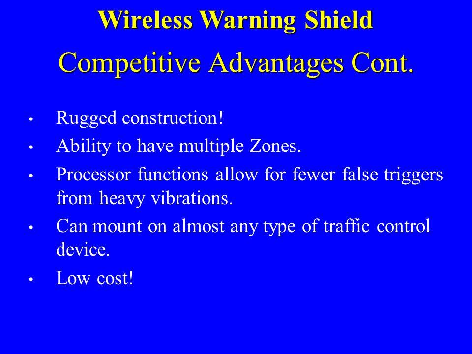 Competitive Advantages Cont.