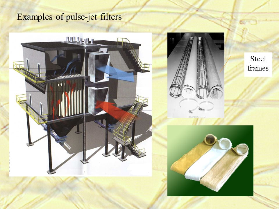 Examples of pulse-jet filters