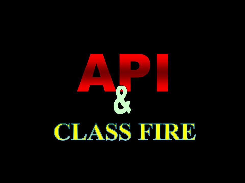 API & CLASS FIRE