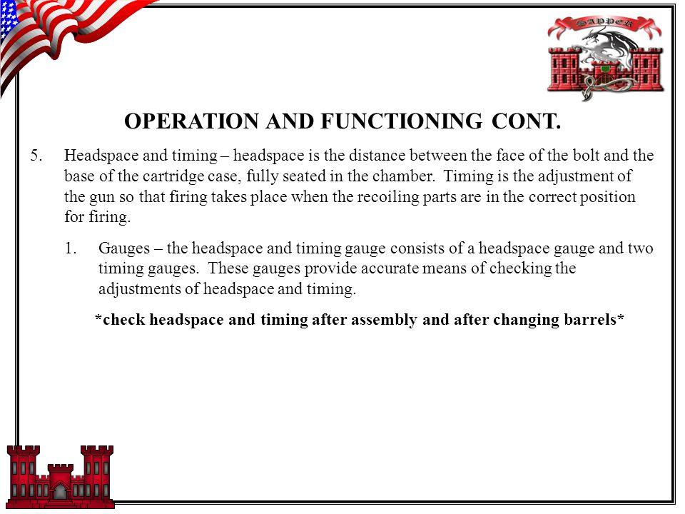 OPERATION AND FUNCTIONING
