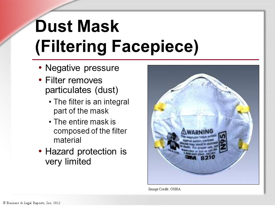 Dust Mask (Filtering Facepiece)