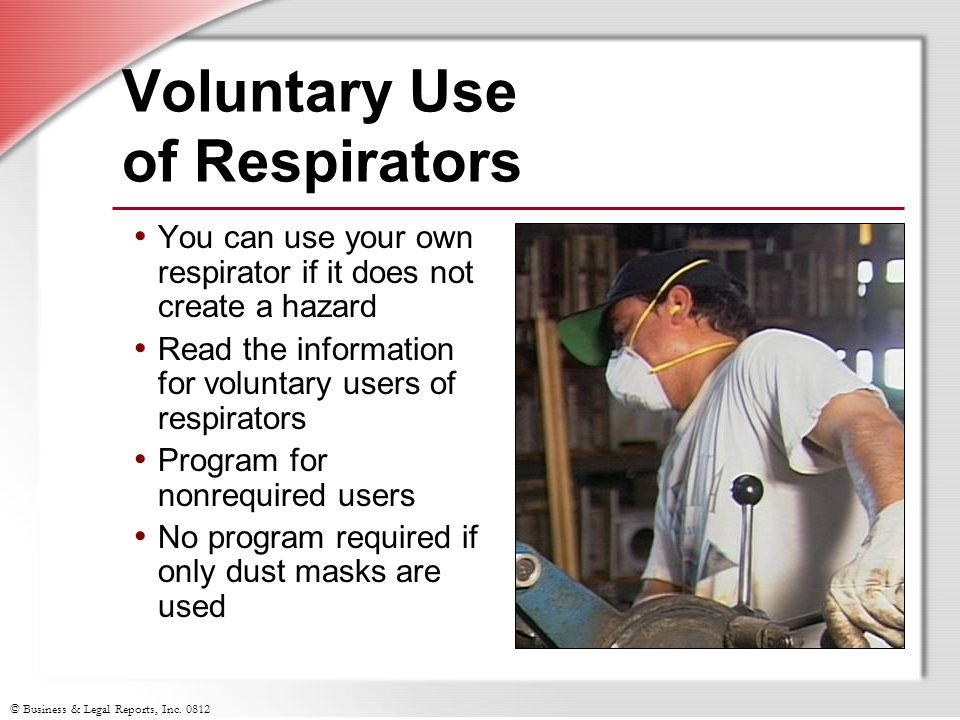 Voluntary Use of Respirators