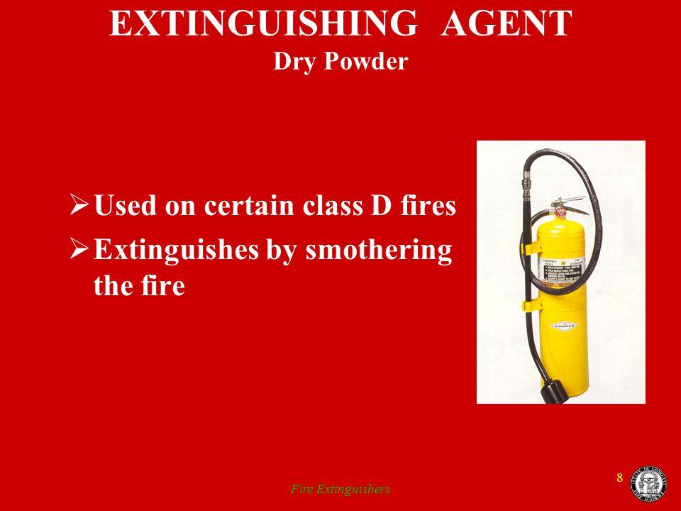 EXTINGUISHING AGENT Dry Powder