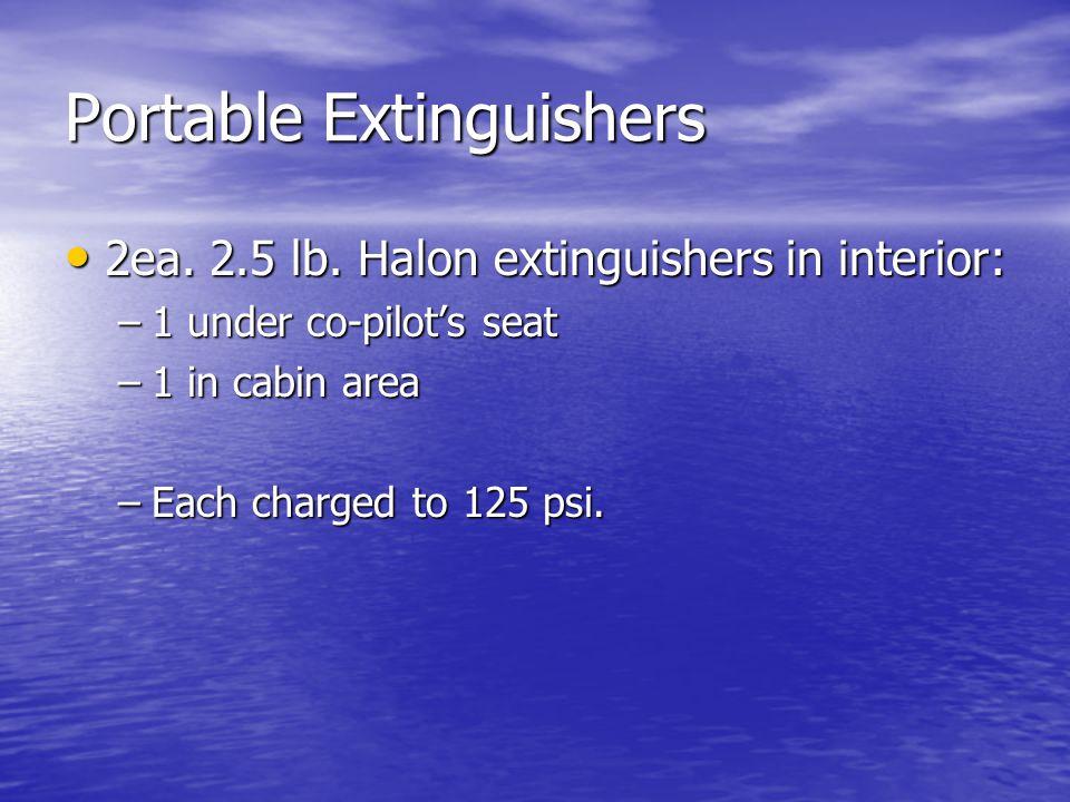 Portable Extinguishers
