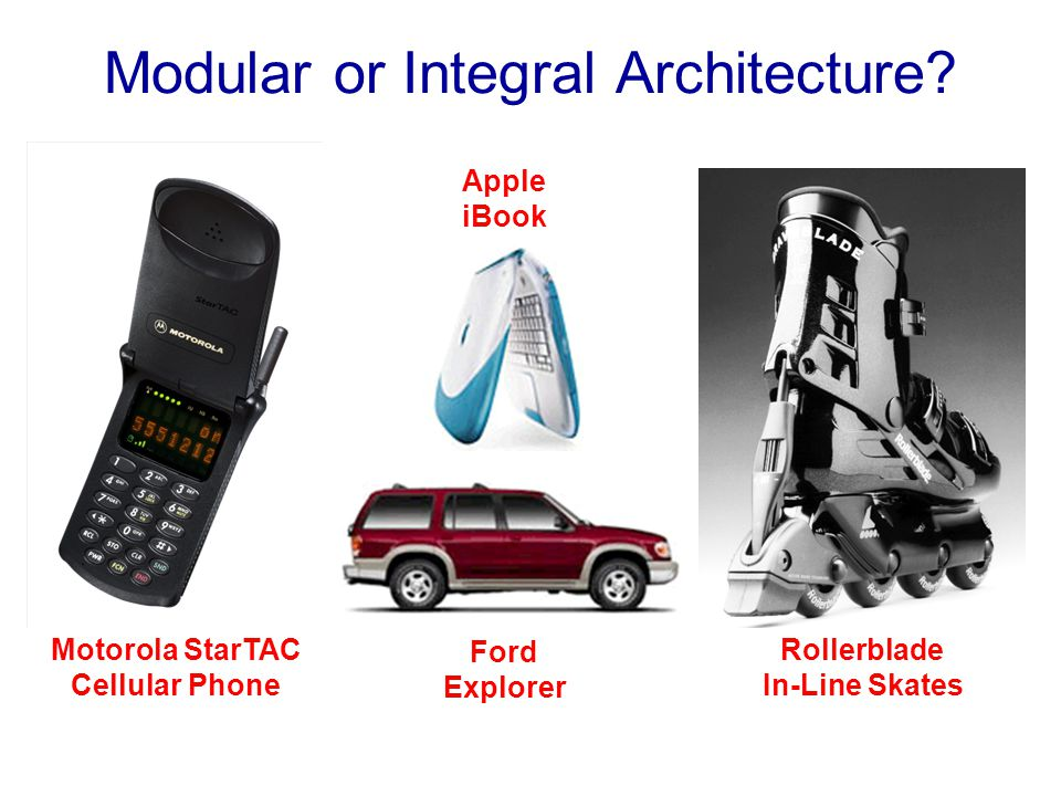Modular or Integral Architecture