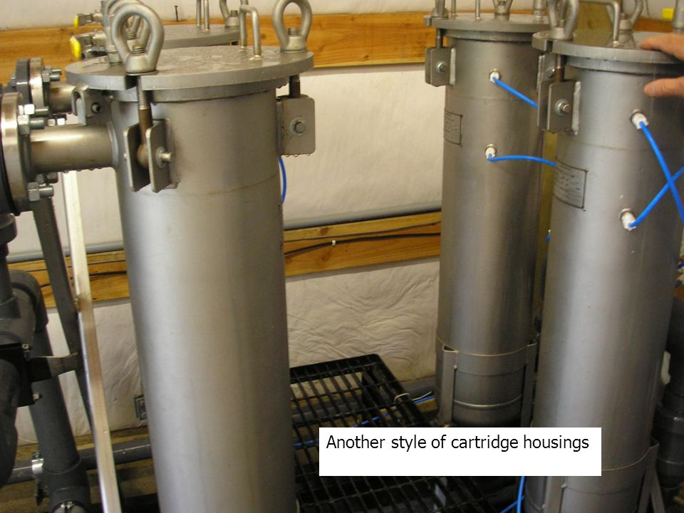 Another style of cartridge housings