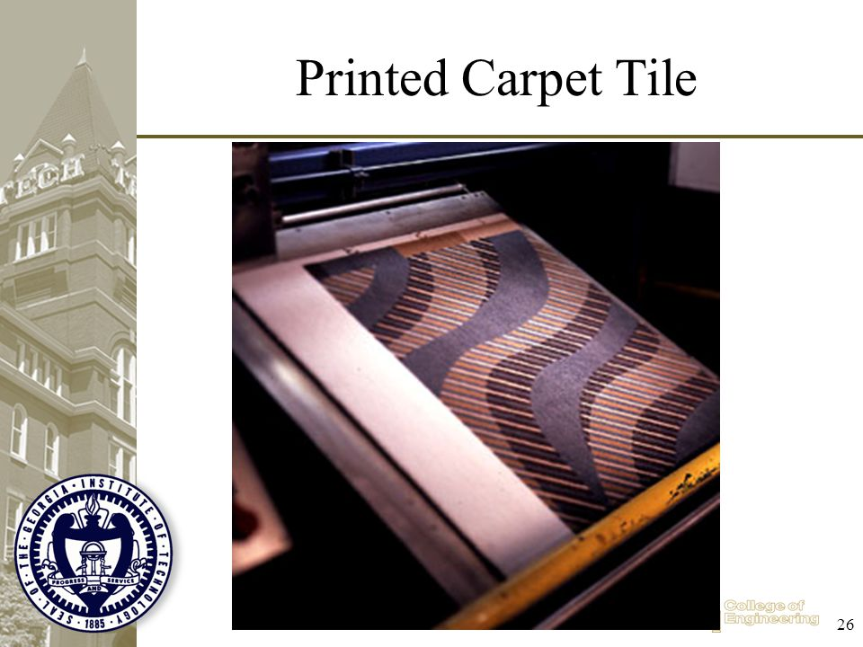 Printed Carpet Tile 26