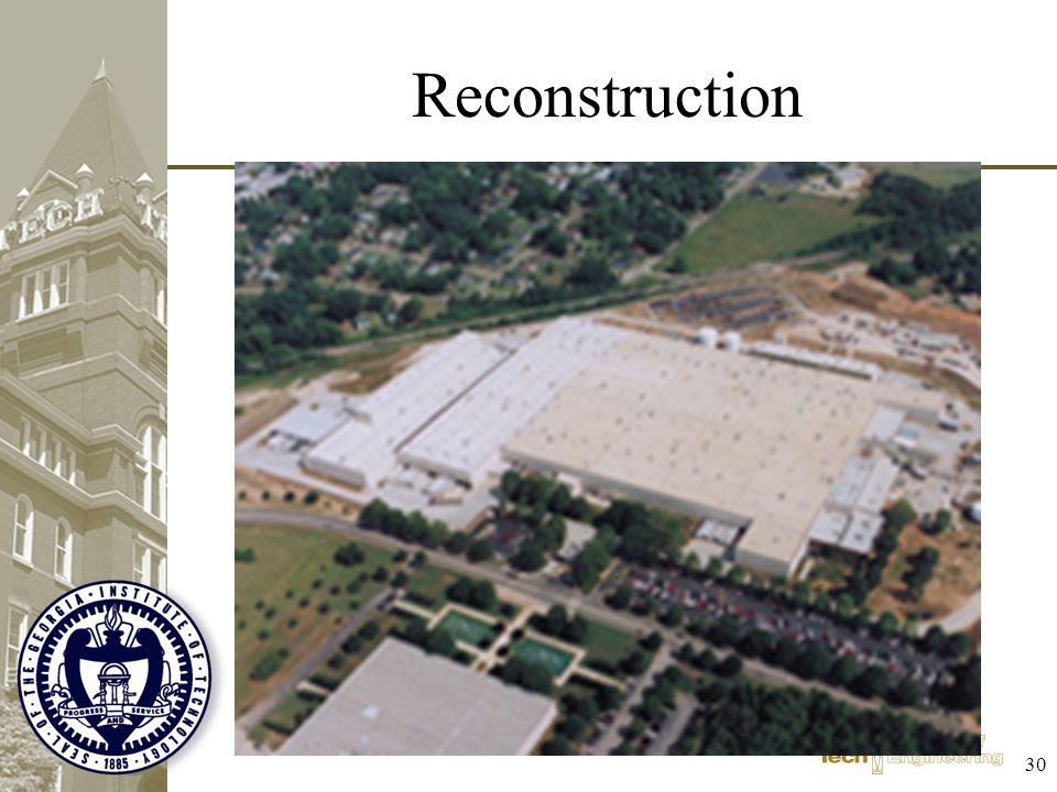 Reconstruction 30