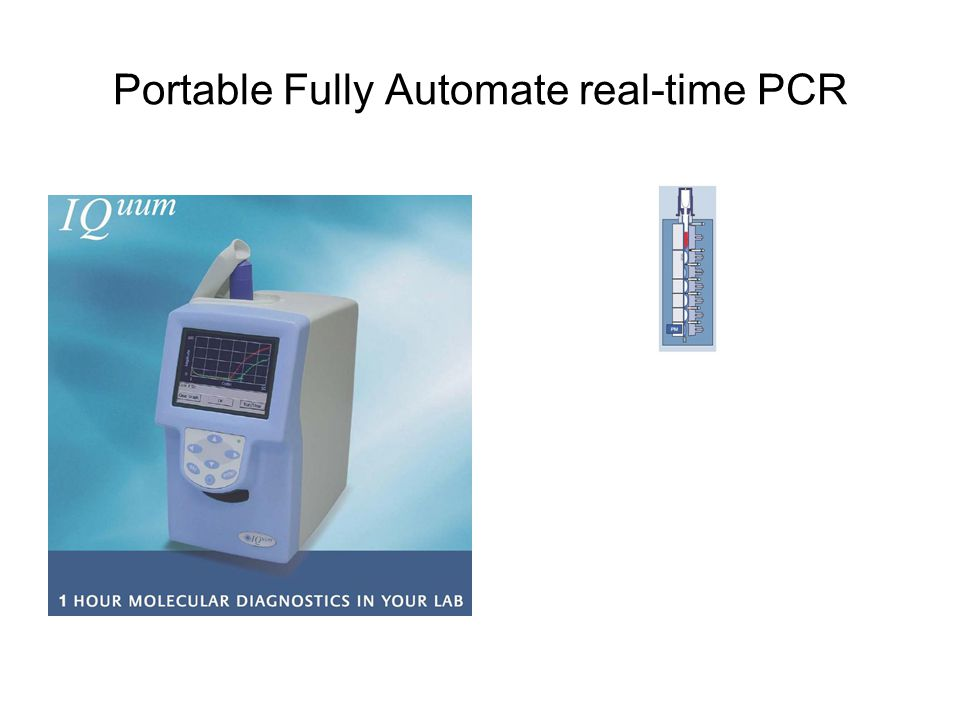 Portable Fully Automate real-time PCR