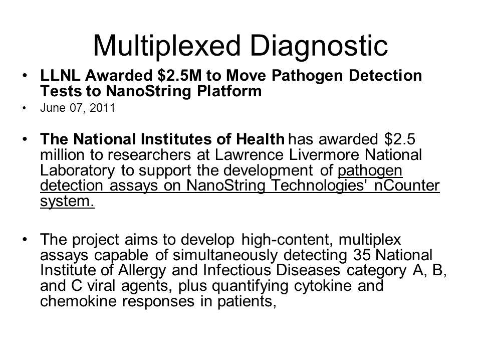 Multiplexed Diagnostic