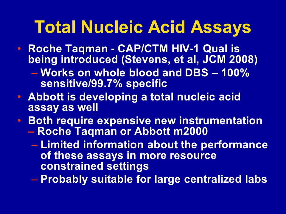 Total Nucleic Acid Assays