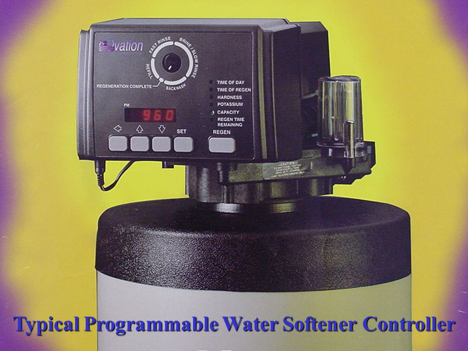 Typical Programmable Water Softener Controller