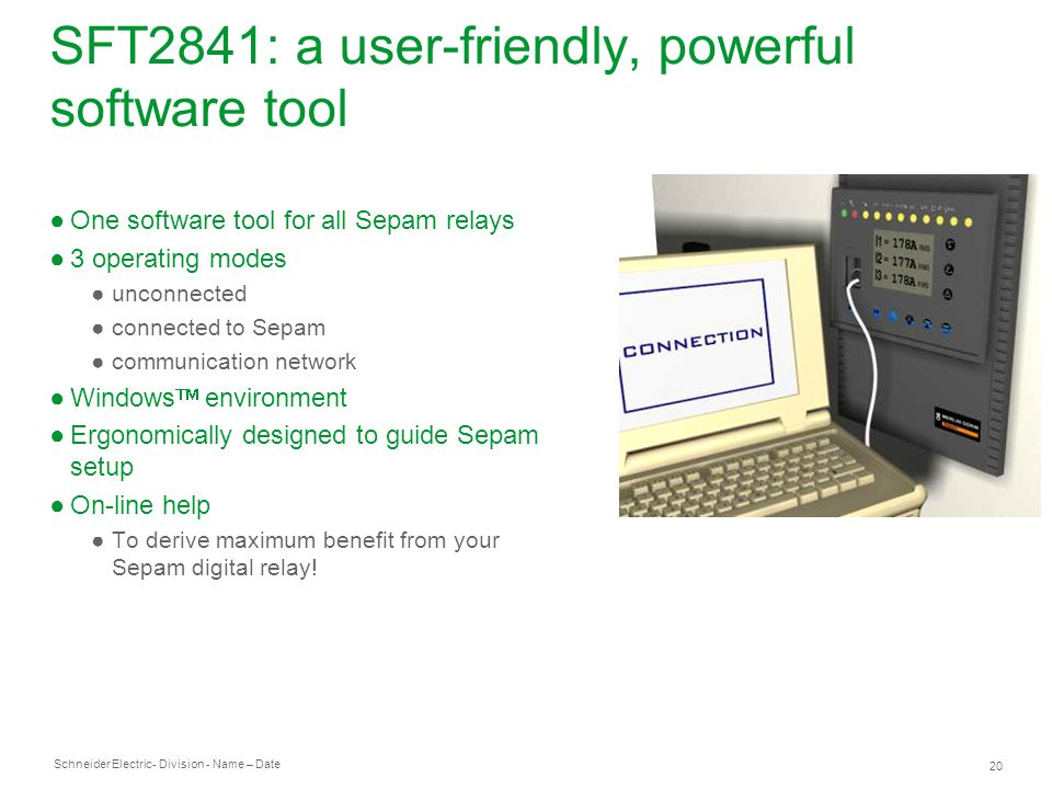 SFT2841: a user-friendly, powerful software tool