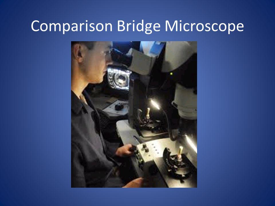 Comparison Bridge Microscope