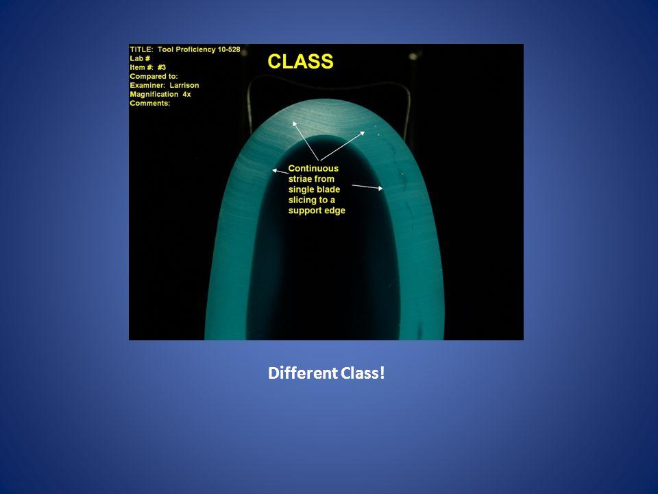 Different Class!
