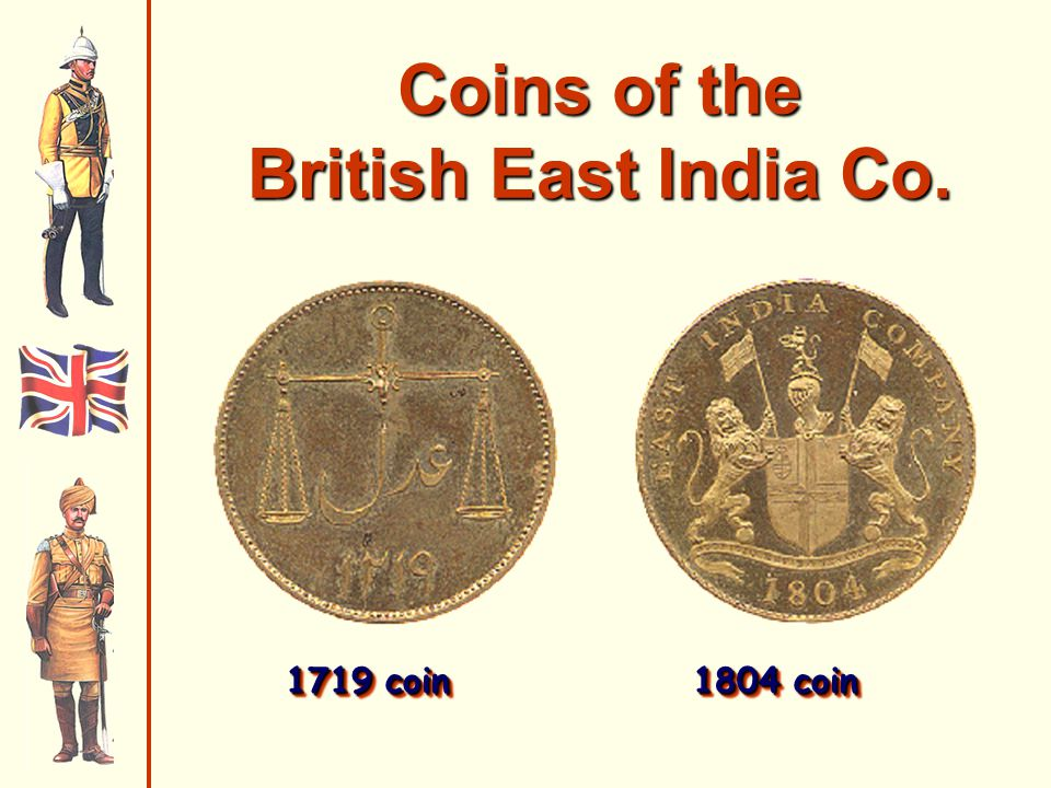 Coins of the British East India Co.