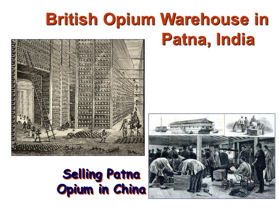 British Opium Warehouse in Patna, India
