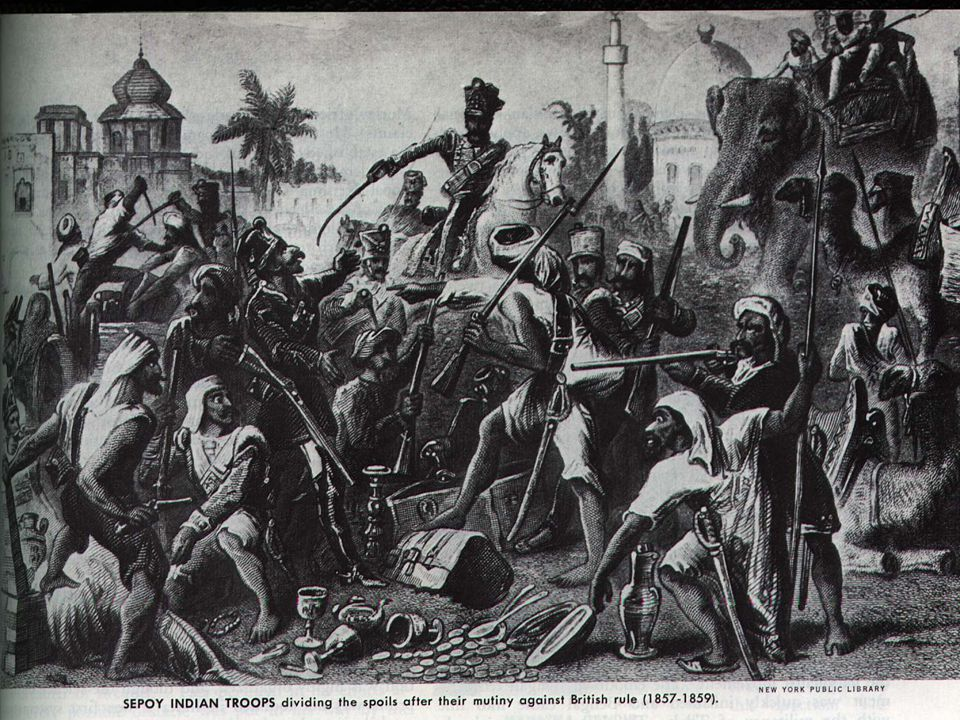 Picture of Sepoy rebellion