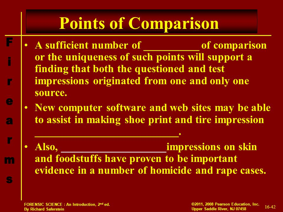 Points of Comparison