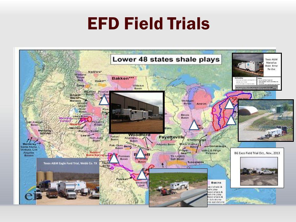 EFD Field Trials