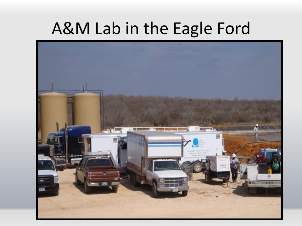 A&M Lab in the Eagle Ford