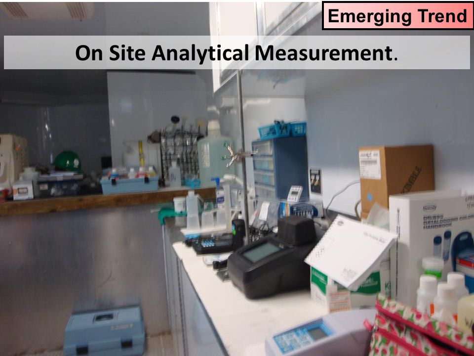 On Site Analytical Measurement.