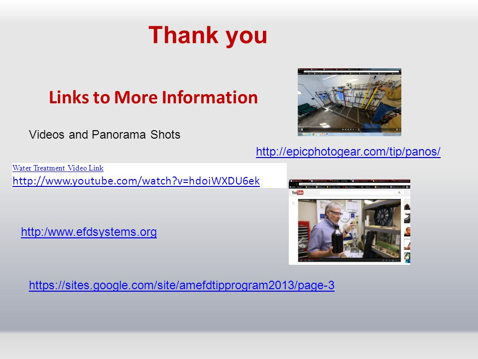 Links to More Information