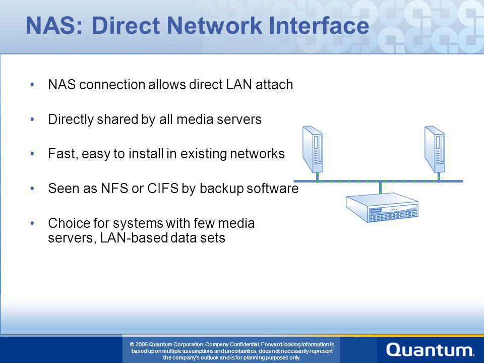 NAS: Direct Network Interface