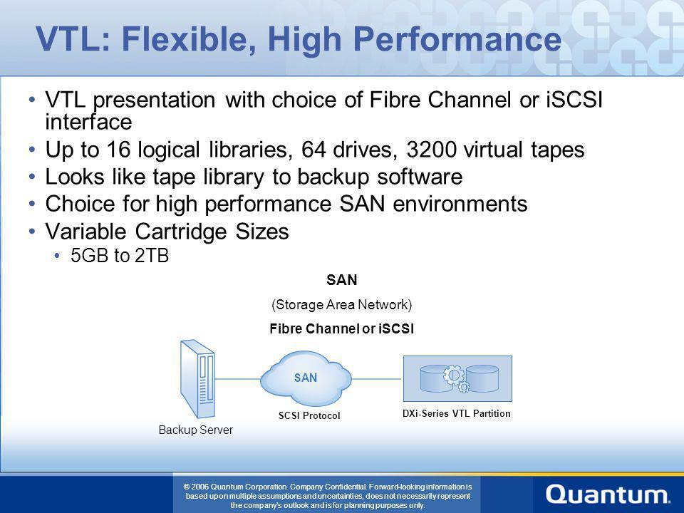 VTL: Flexible, High Performance