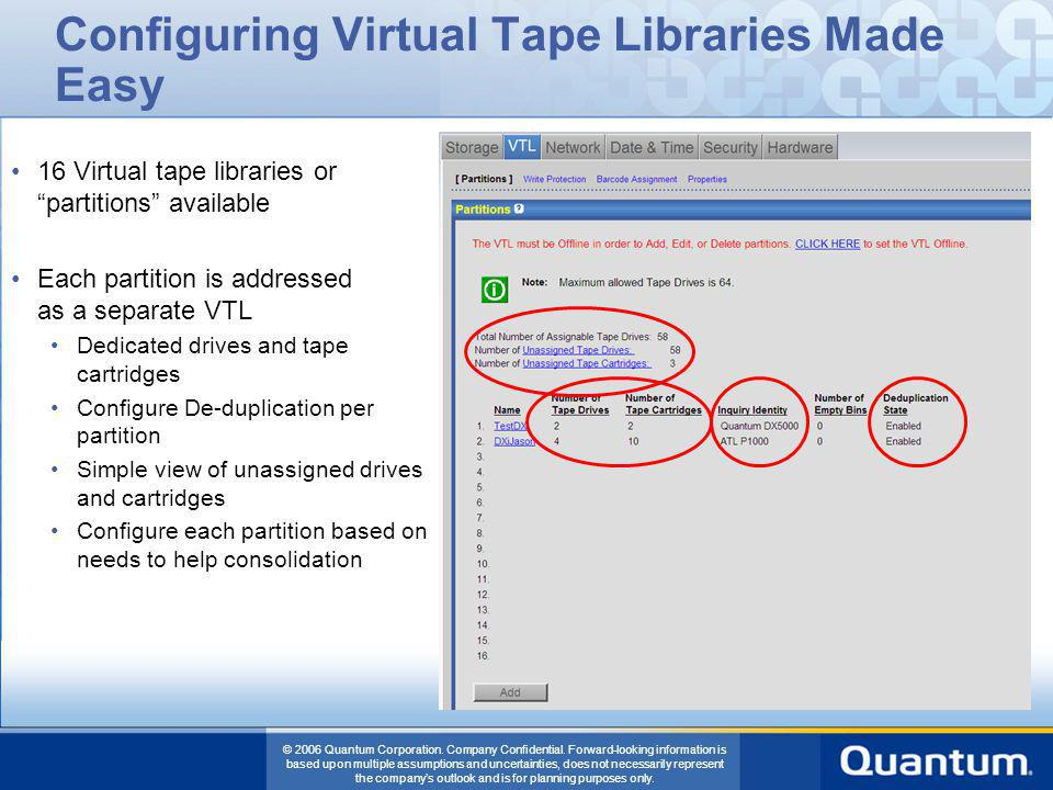 Configuring Virtual Tape Libraries Made Easy